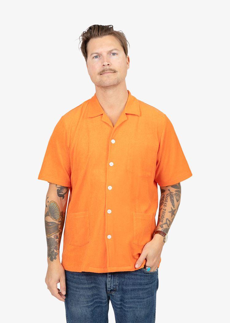 "Product image for ""Frottéskjorta Orange"""