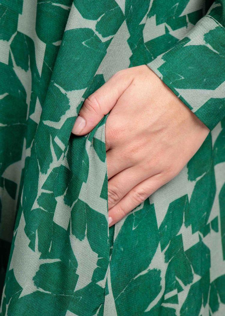 """Secondary product image for """"Linda Klänning Mareld Grön"""""""