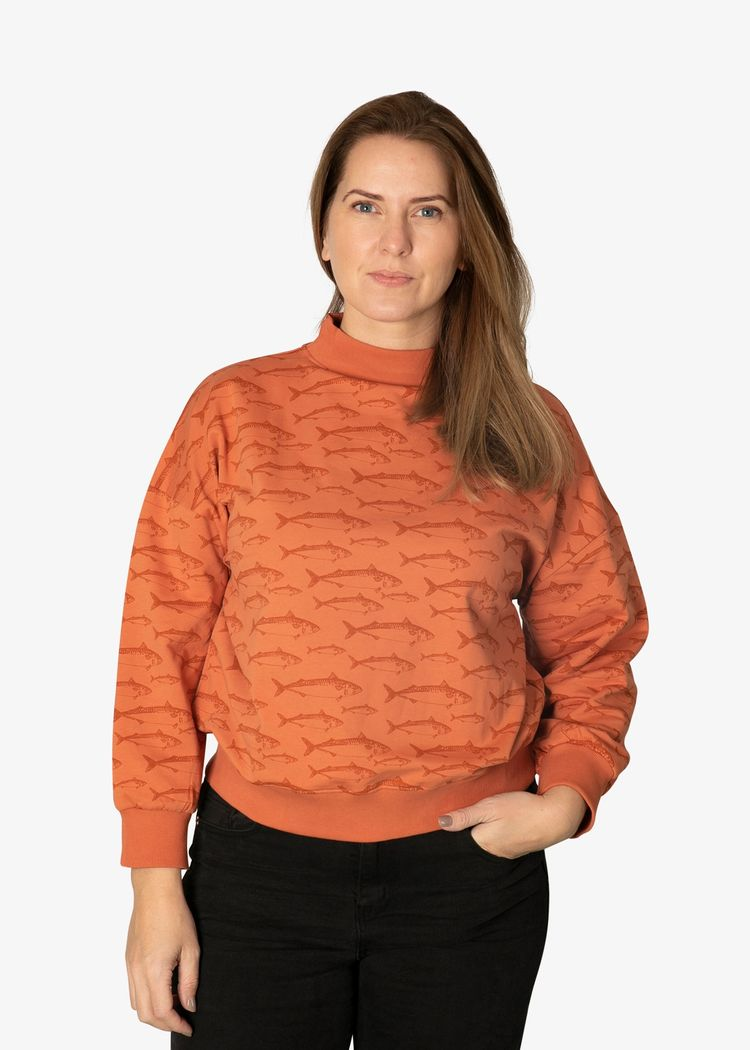 """Product image for """"Wilma Sweater Rost Makrill Rost"""""""