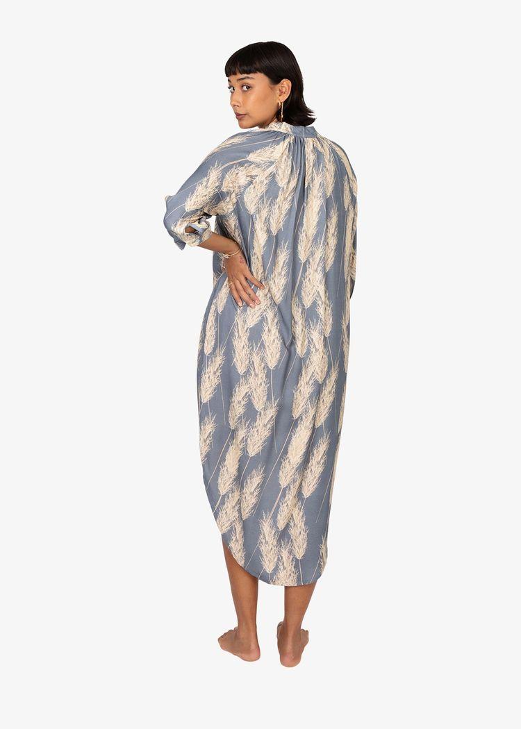 """Secondary product image for """"Marie Skjortklänning Vass"""""""