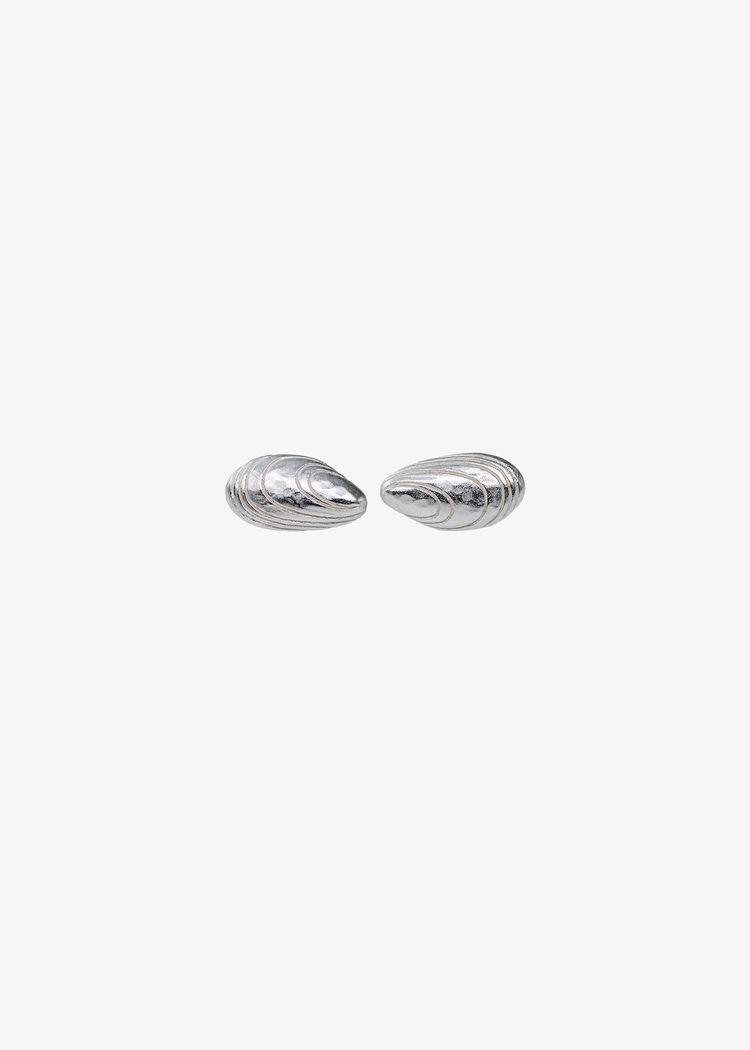 "Secondary product image for ""Örhänge Blåmussla Silver"""