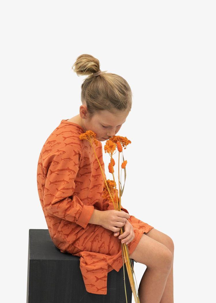 """Secondary product image for """"Raisa Klänning Makrill Rost"""""""
