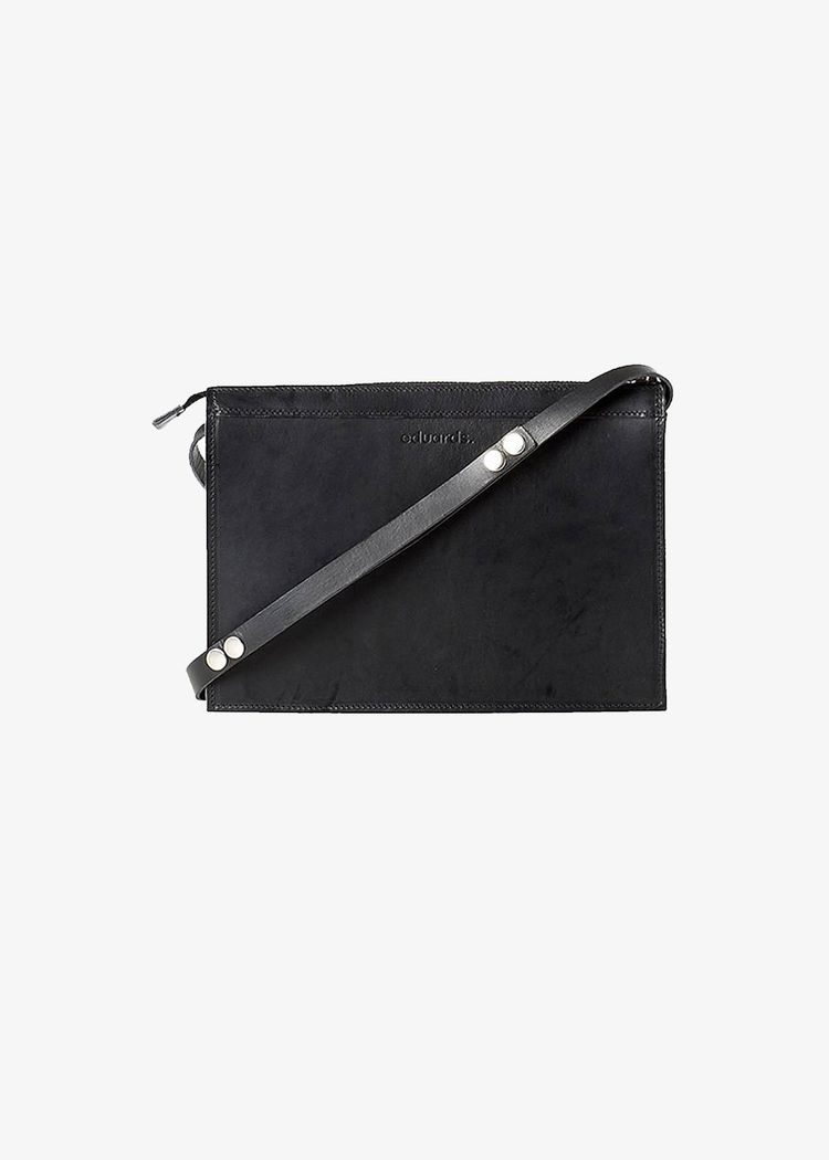 """Secondary product image for """"Eduards Small Shoulder Bag Black"""""""