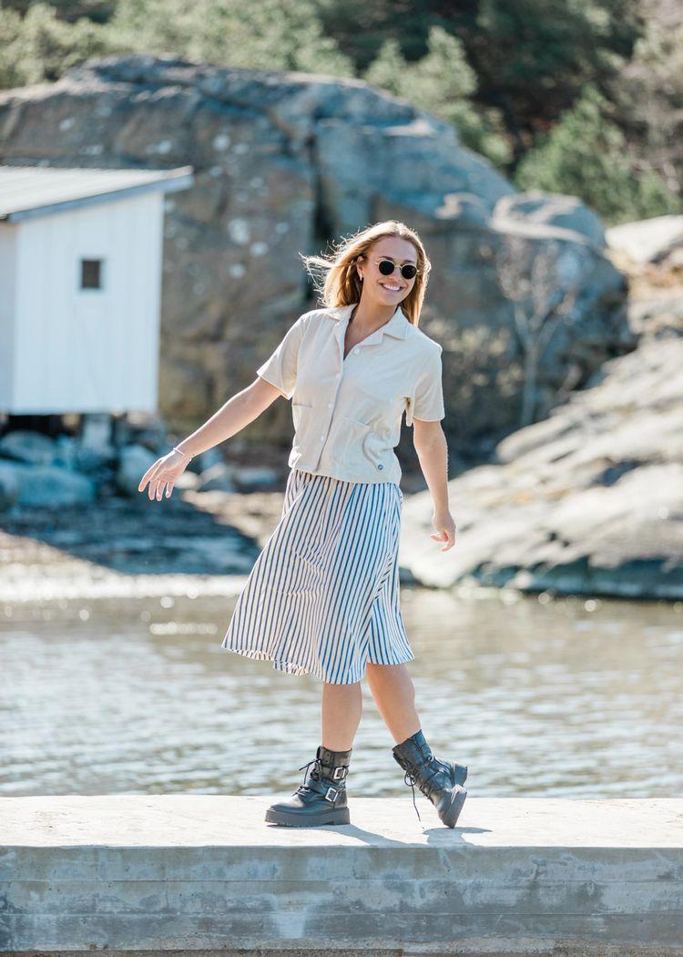 "Product image for ""Tilda Skirt Stripe Melange"""