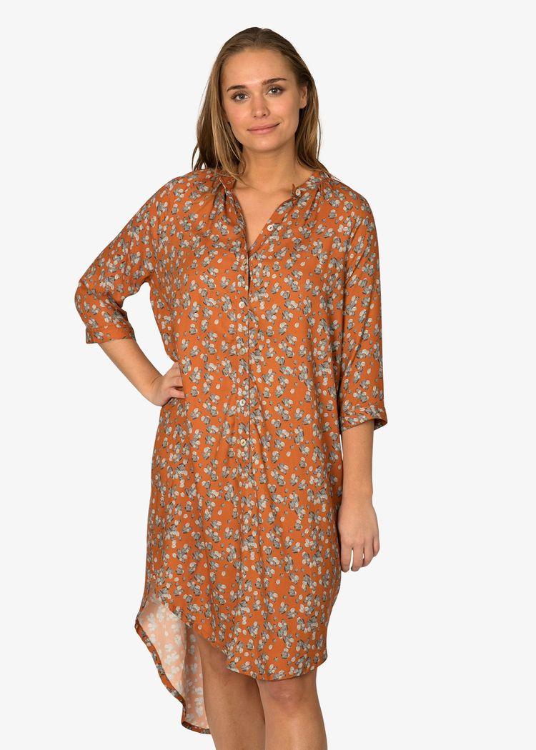 "Product image for ""Marie Skjortklänning Sten Rost"""