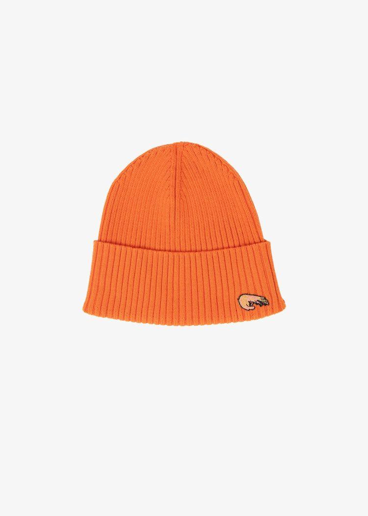"""Product image for """"Stickad Mössa Räka Orange"""""""