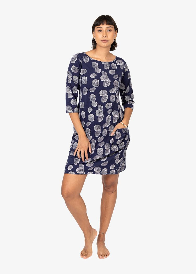"""Product image for """"Mira Dress Shell Navy"""""""