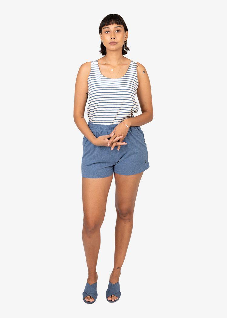 "Secondary product image for ""Melina Top Stripe Melange"""