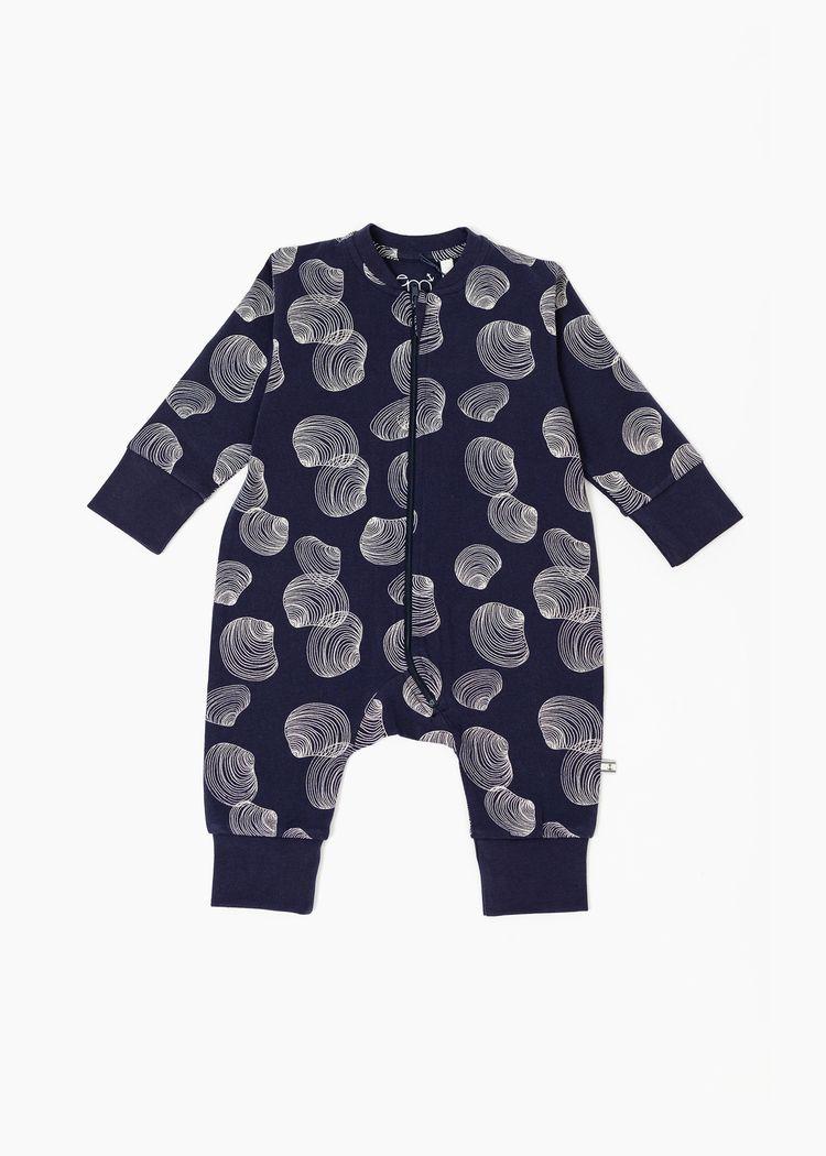 "Product image for ""Pyjamas Snäcka Marinblå"""
