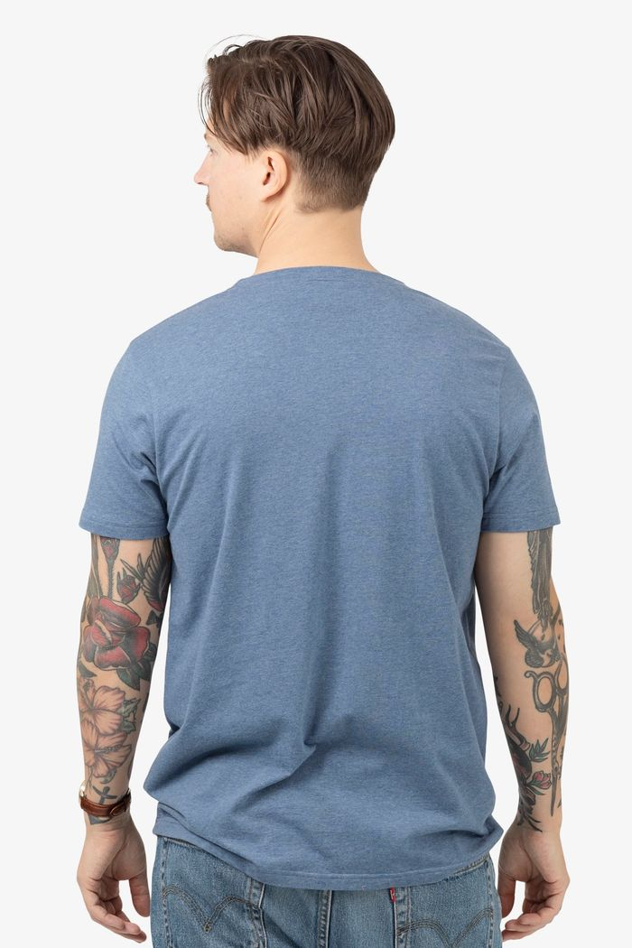 "Secondary product image for ""T-shirt Räka Blå"""