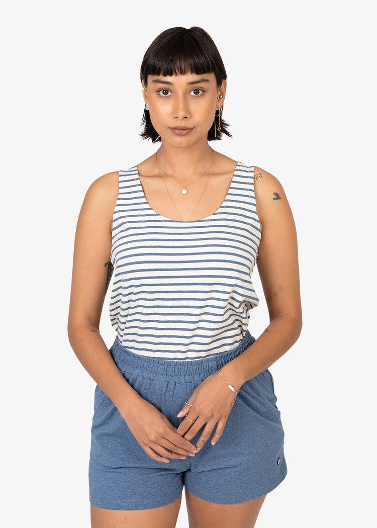 """Product image for """"Melina Top Stripe Melange"""""""