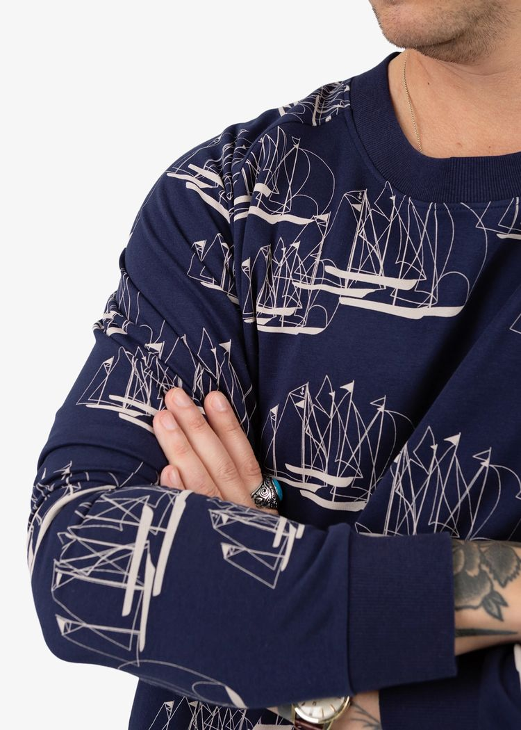 """Secondary product image for """"Sweater Linjespel"""""""