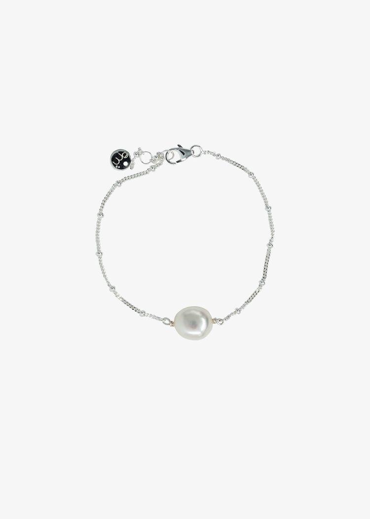 "Product image for ""Armband Sötvattenspärla Silver"""