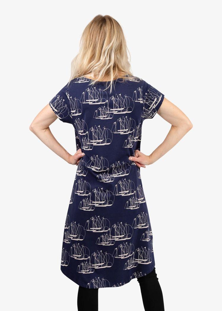 """Secondary product image for """"Dolly Klänning Linjespel"""""""