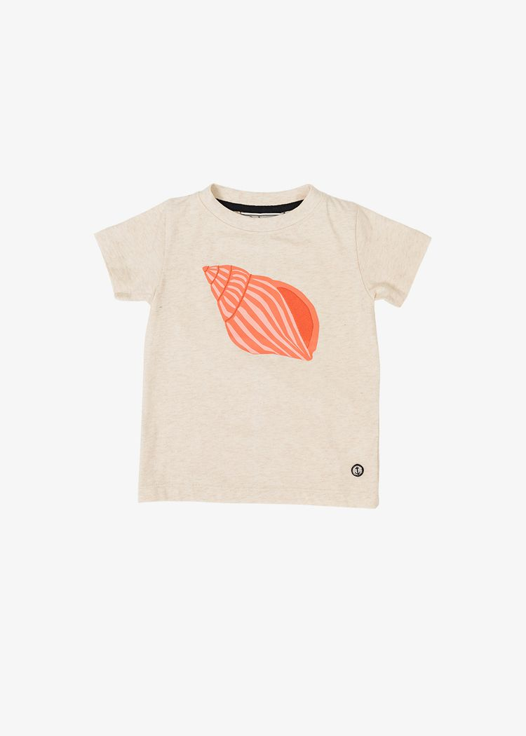 """Secondary product image for """"T-shirt Barn Snäcka Off-white"""""""