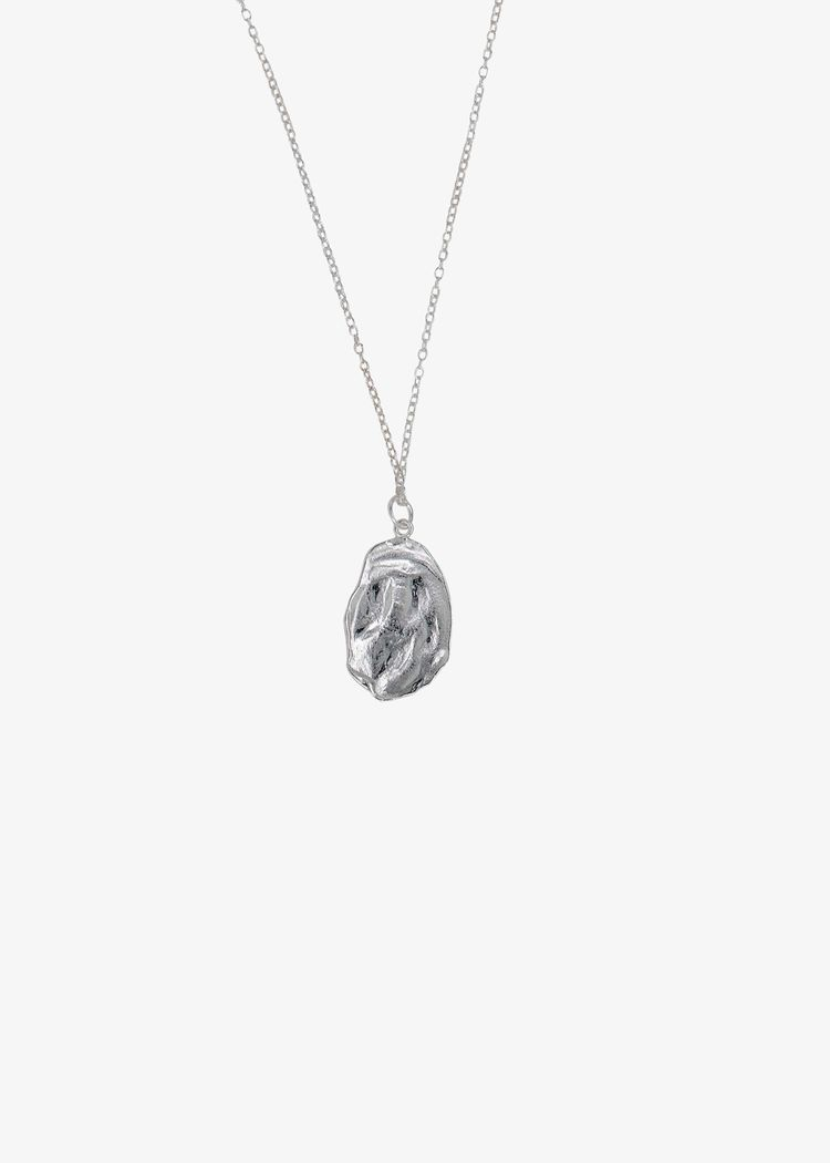 """Product image for """"Necklace Oyster Silver"""""""