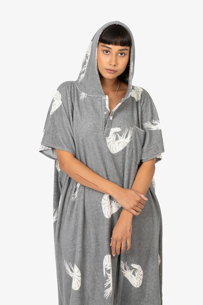 """Product image for """"Terry Poncho Shrimp"""""""