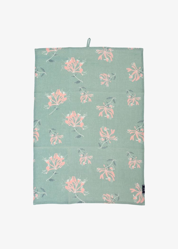 """Product image for """"Kitchen Towel Honeysuckle Green"""""""