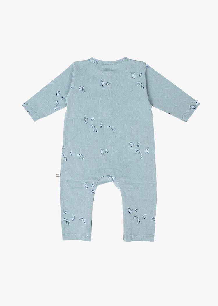 "Secondary product image for ""Pyjamas Mini Snäcka Granitblå"""
