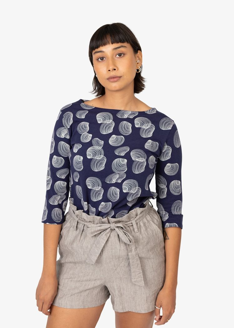 """Product image for """"Mela Blouse Shell Navy"""""""