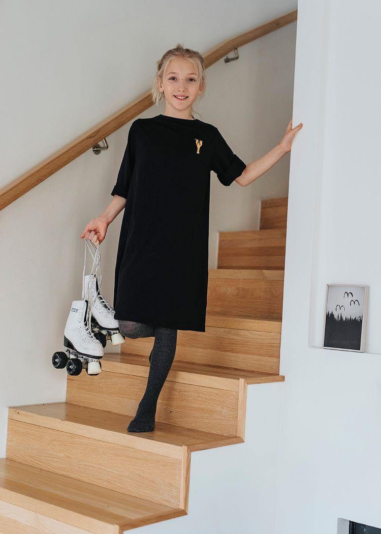 """Product image for """"Jasmine Klänning Hummer Svart"""""""