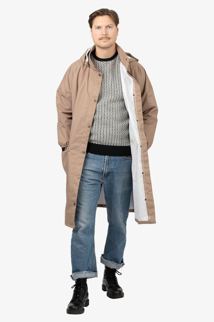 """Product image for """"GBG Regnponcho Beige"""""""