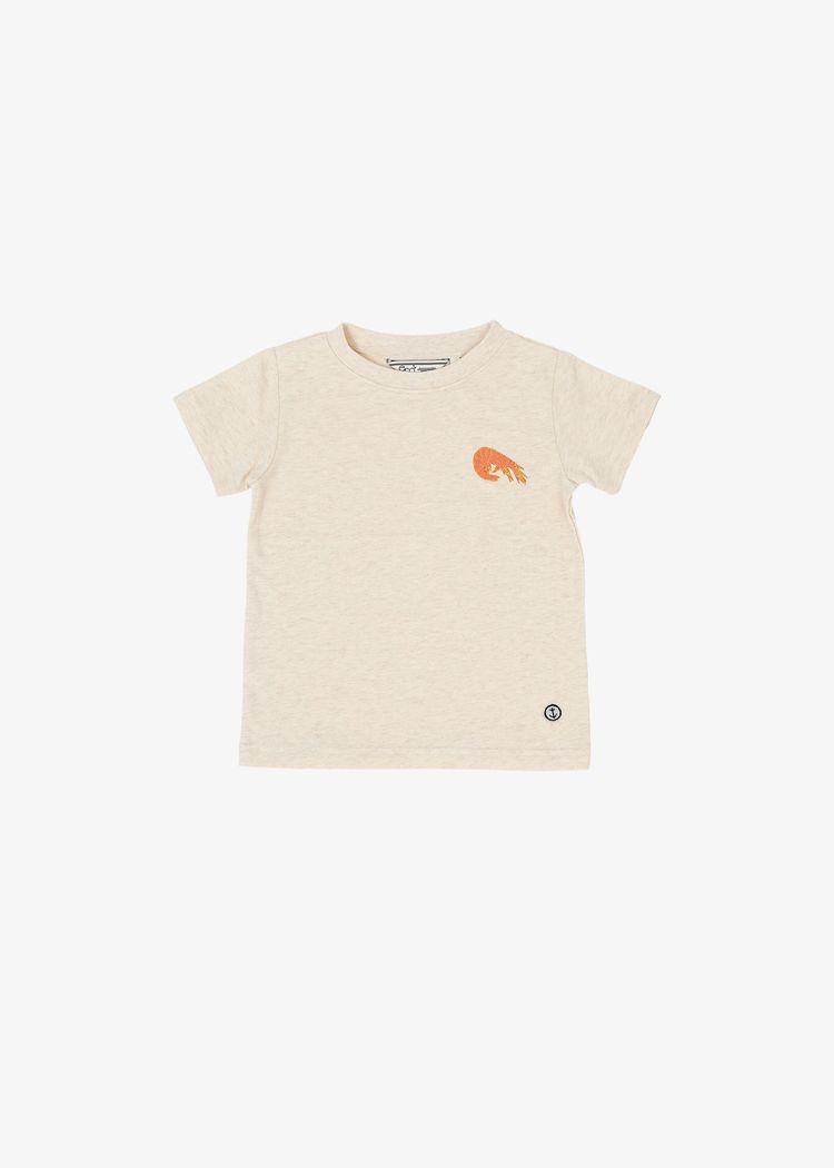 "Product image for ""T-shirt Barn Räka Off-white"""