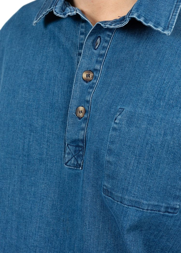 "Secondary product image for ""Fiskarskjorta Jeans"""