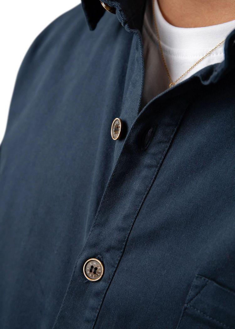 "Secondary product image for ""Three Pocket Skjorta Marinblå"""