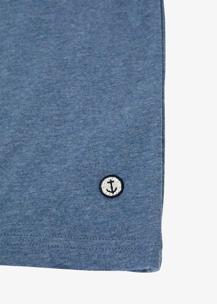 "Secondary product image for ""T-shirt Barn Räka Blå"""
