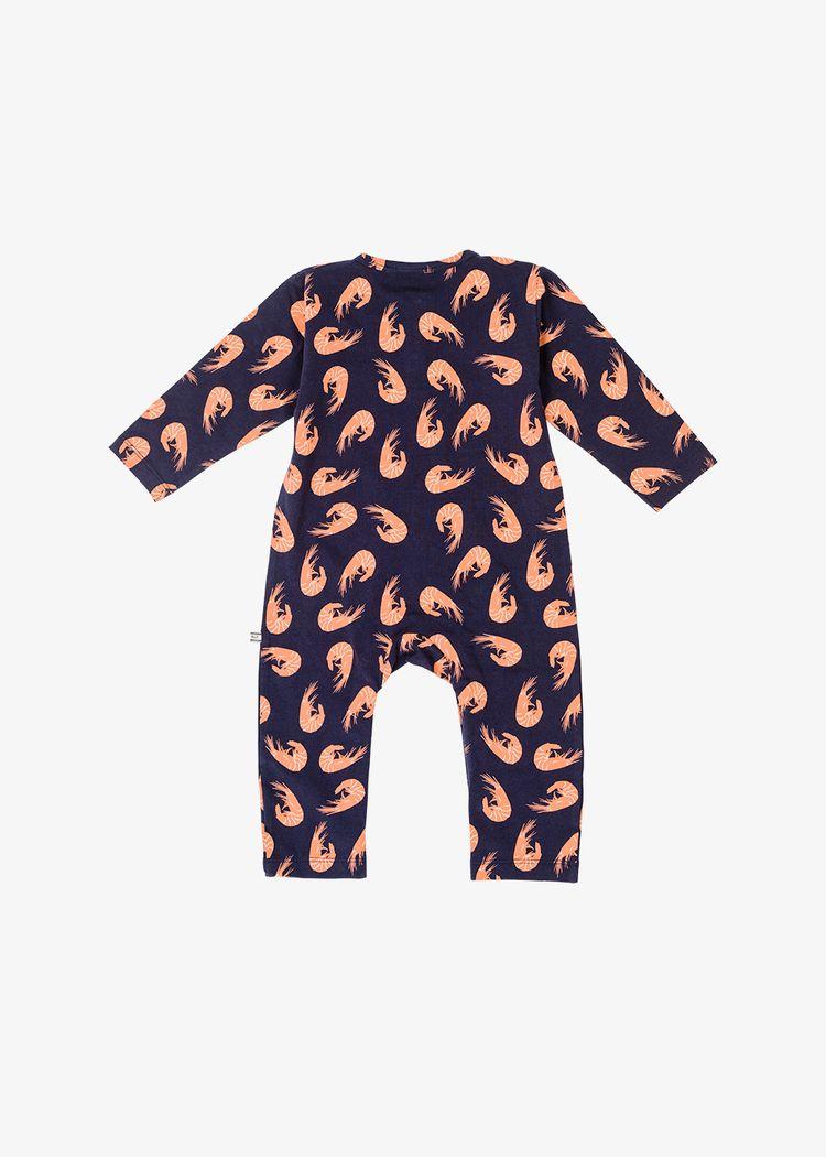 "Secondary product image for ""Pyjamas Räka Marinblå"""