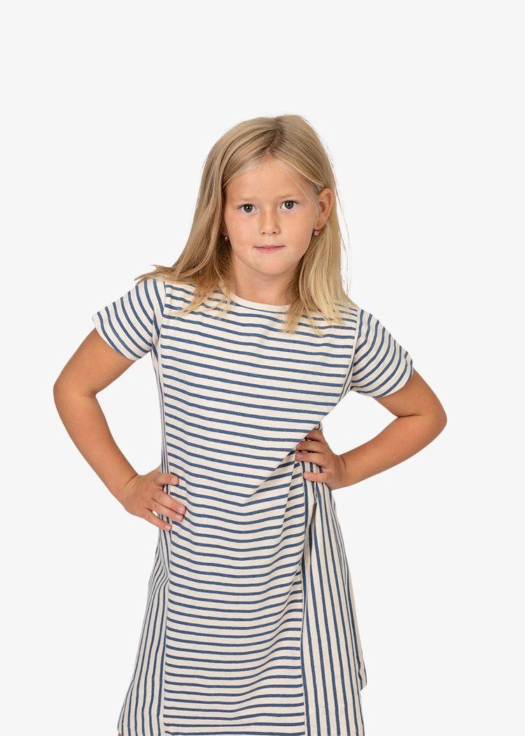 """Secondary product image for """"Linnea Klänning Rand Melerad"""""""