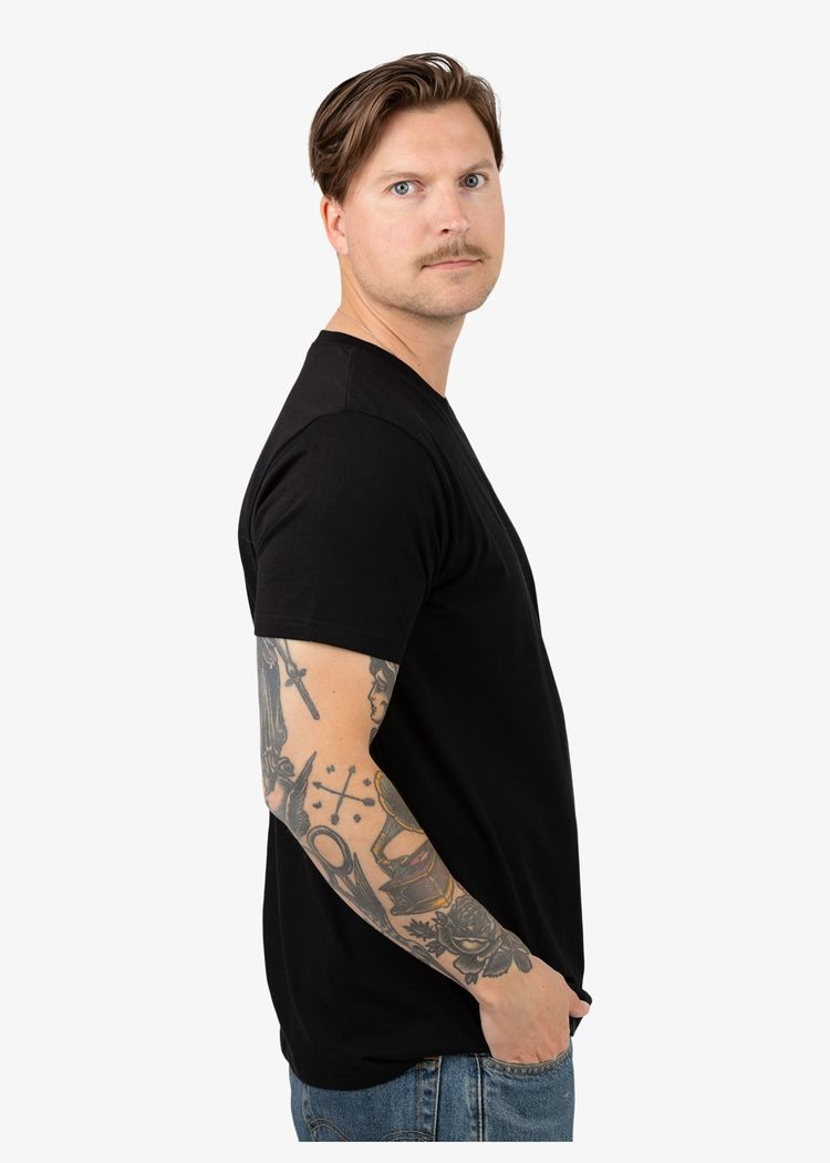 """Secondary product image for """"T-shirt Hummer Svart"""""""
