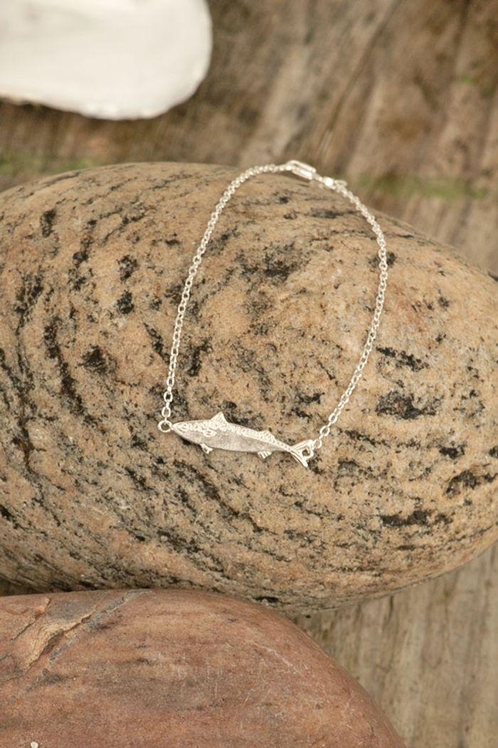 "Secondary product image for ""Bracelet Mackerel Silver"""