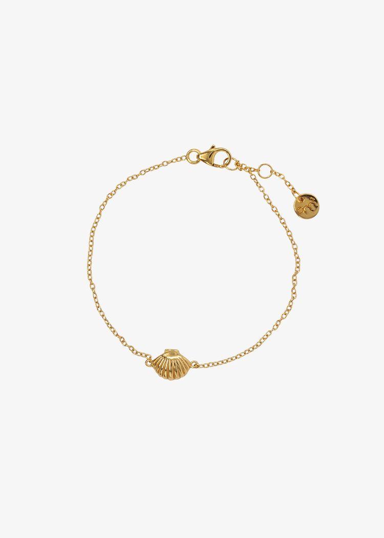 "Product image for ""Armband Snäcka Guld"""