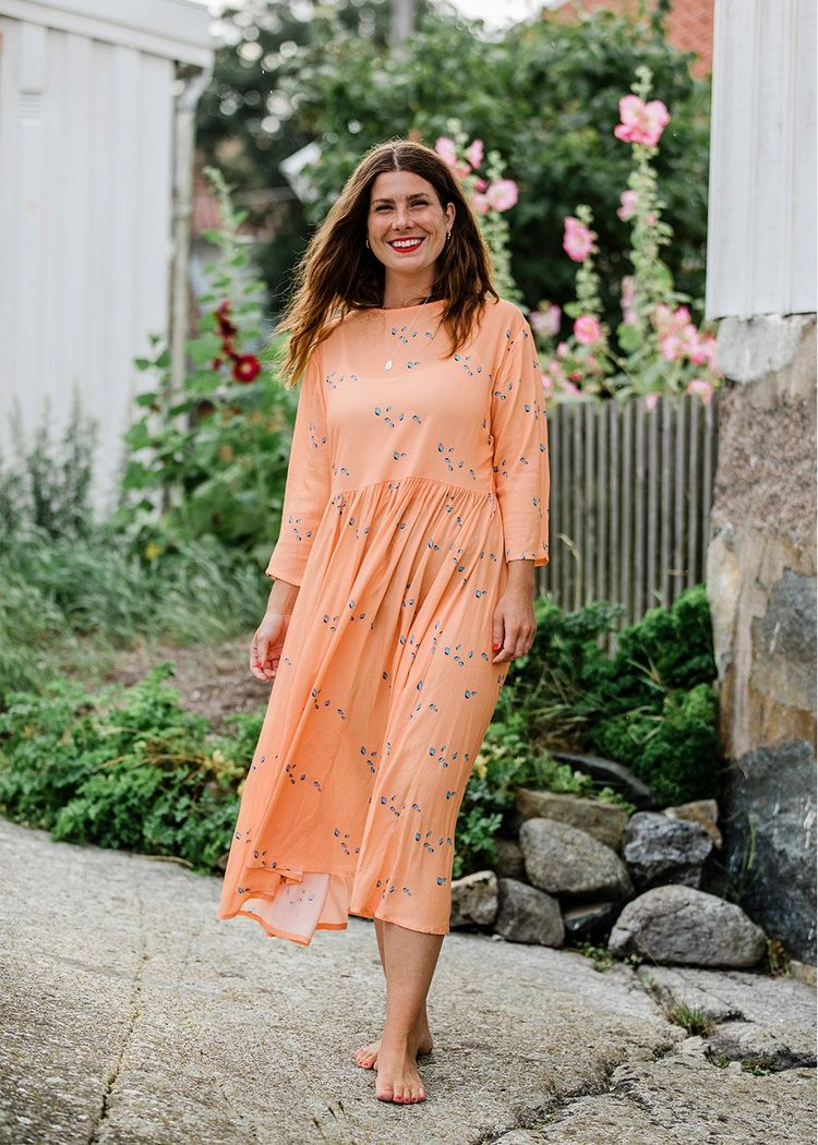 "Product image for ""Minna Dress Mini Shell Peach"""