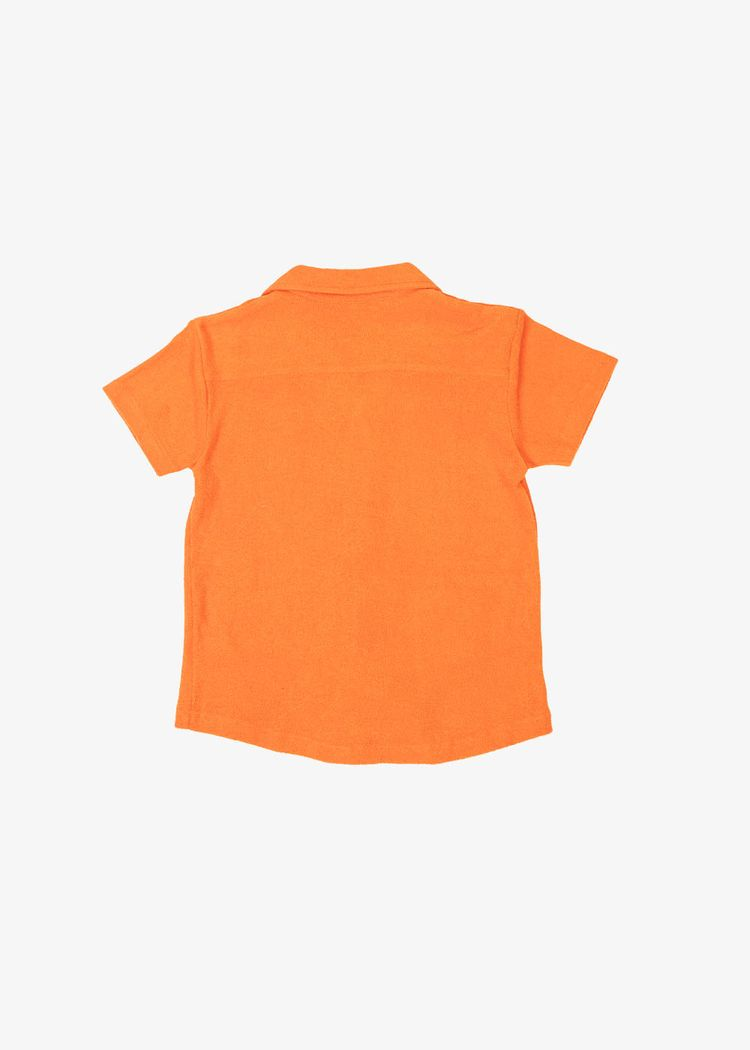 "Secondary product image for ""Frottéskjorta Barn Orange"""