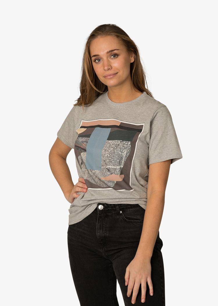 "Product image for ""T-shirt Berg Grå"""