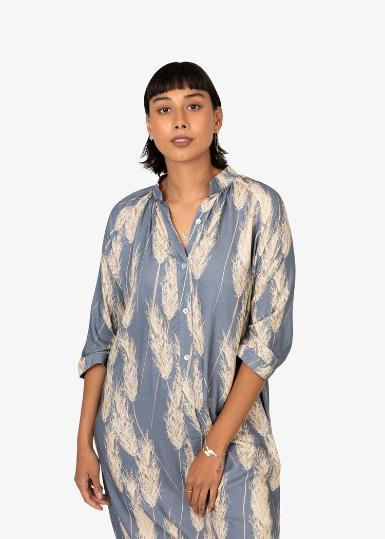 """Secondary product image for """"Marie Shirt Dress Reed"""""""