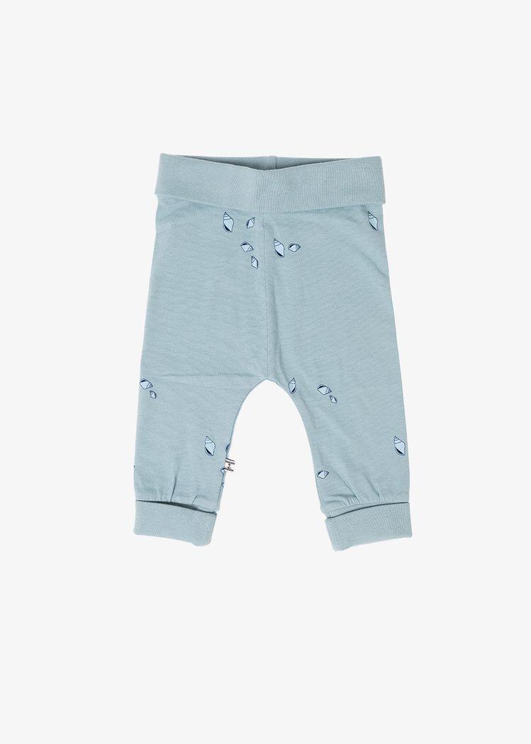 "Product image for ""Tights Baby Mini Snäcka Granitblå"""