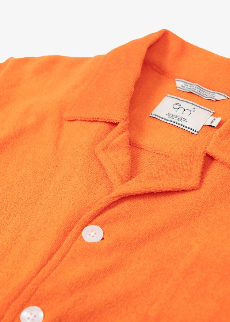 "Secondary product image for ""Frottéskjorta Barn Orange"""