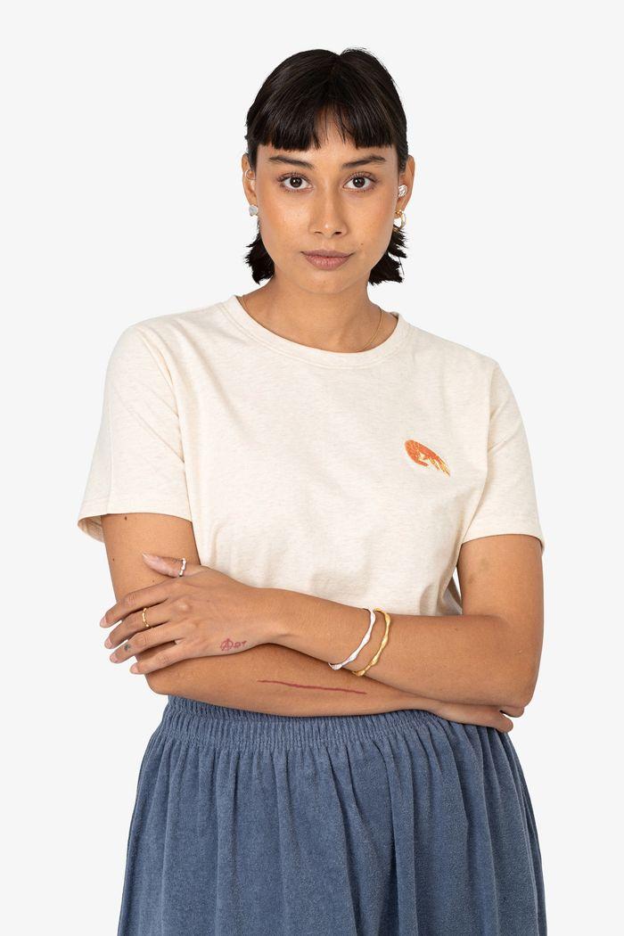 "Product image for ""T-shirt Räka Off-white"""