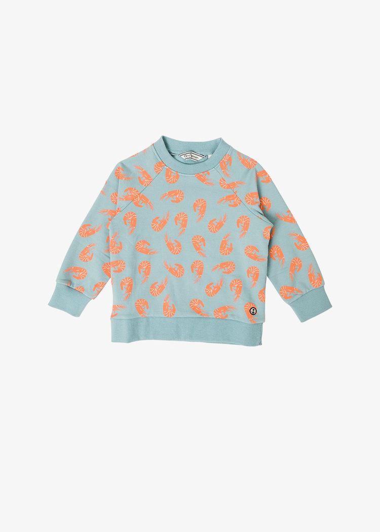 "Product image for ""Tröja Barn Räka Granitblå"""