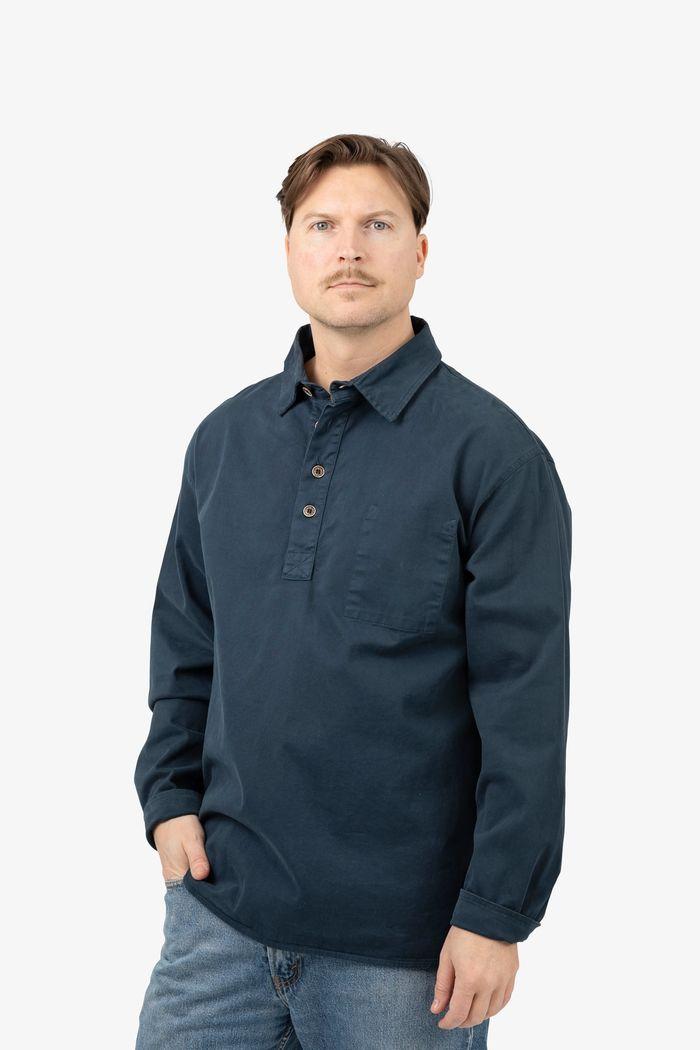 "Product image for ""Fiskarskjorta Marinblå"""