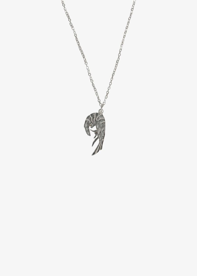 "Product image for ""Halsband Räka Silver"""