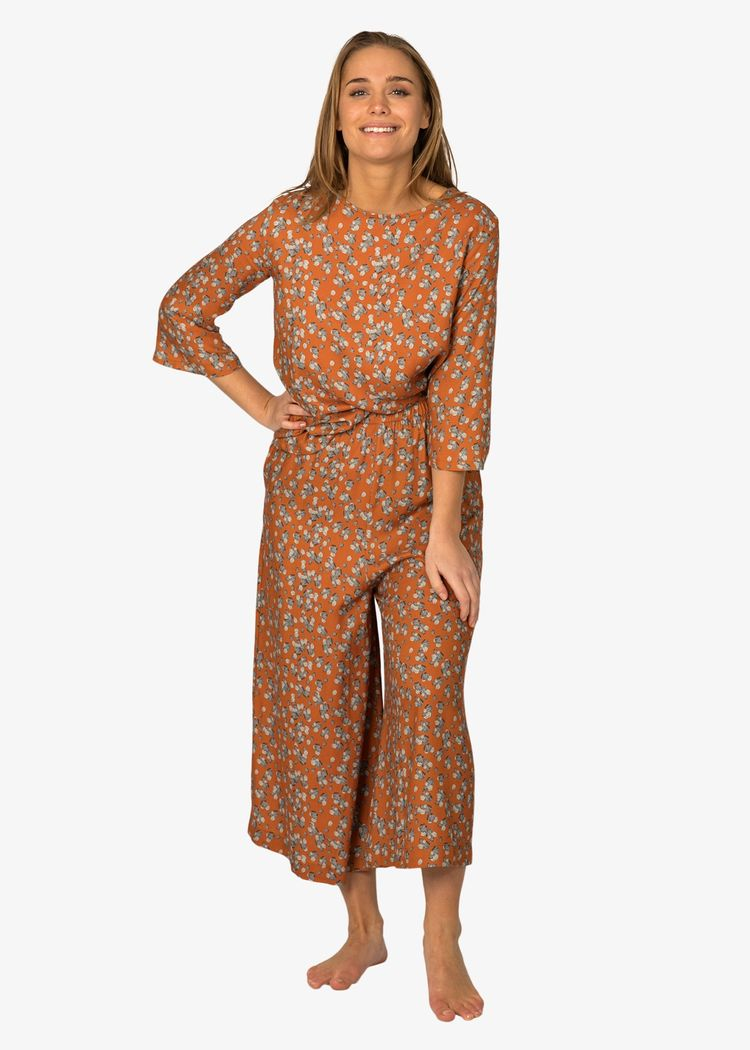 """Product image for """"Tea Trousers Stone Rust"""""""