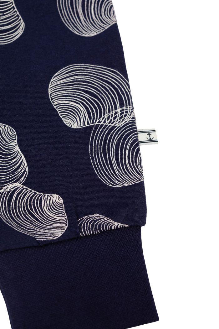 "Secondary product image for ""Pyjamas Snäcka Marinblå"""