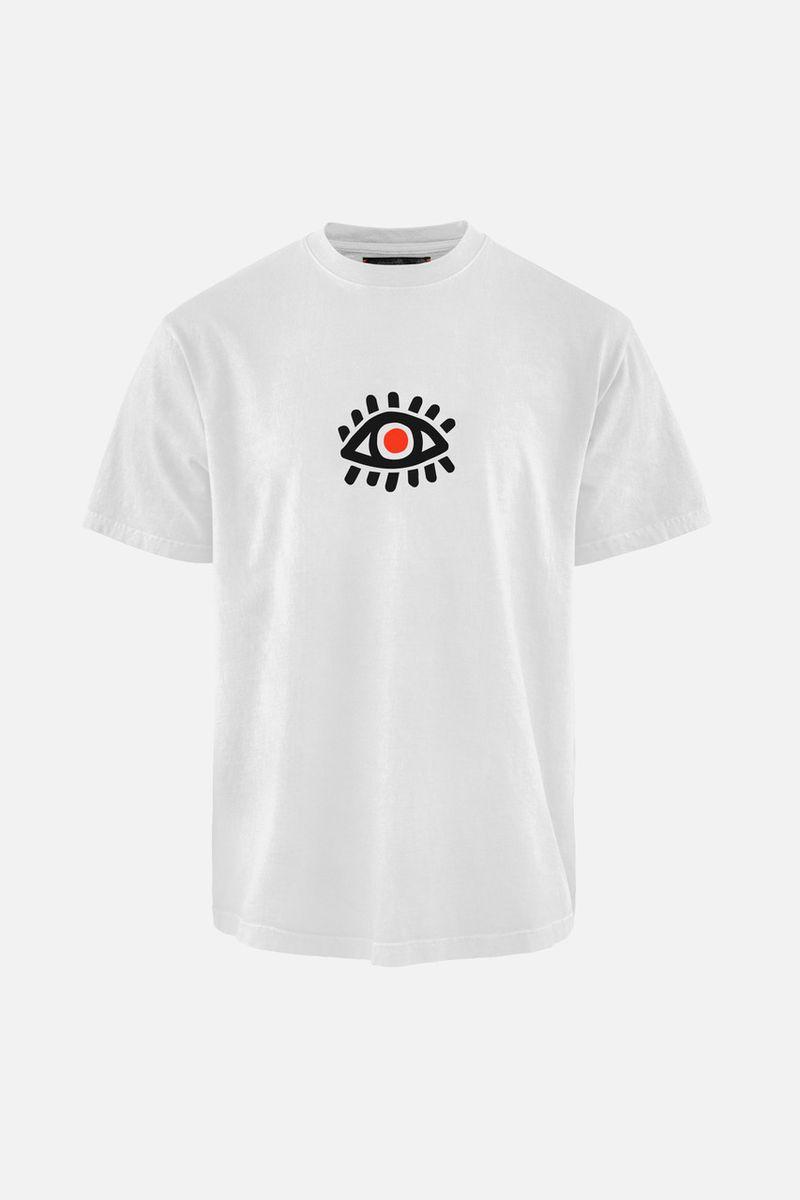 Karuna Short Sleeve T-Shirt, White Focus