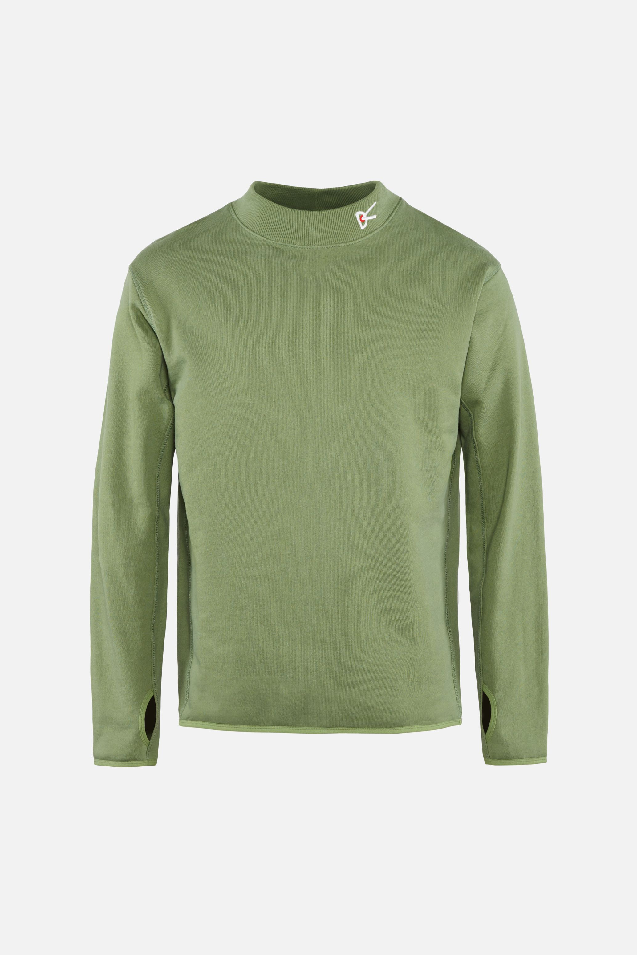 Hiei Mock Neck Sweatshirt, Woods