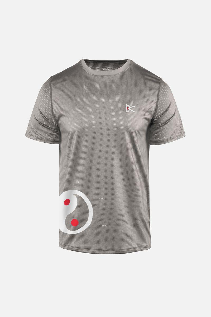 Peace-Tech Short Sleeve T-Shirt, Mind Body Spirit
